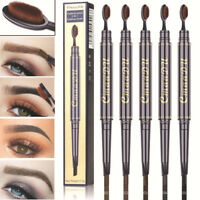 CmaaDu Eye Brow Eyeliner Eyebrow Pen Pencil With Brush Makeup Cosmetic Tool