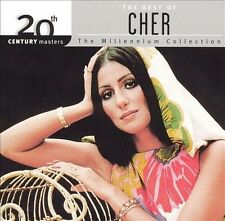 CHER CD BEST OF MILLENNIUM COLLECTION 20TH CENTURY MASTERS SONNY BONO