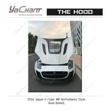 Carbon Bonnet Fit For 2016 Jaguar F-Type iMP Performance Hood Transparent Glossy
