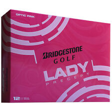 Bridgestone Lady Precept Pink Golf Balls - One Dozen