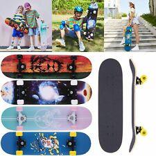 WESKATE Skateboards 31Zoll Longboard Komplettboard fürTeenager & Erwachsene DE