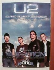 U2 Promo Poster Band Shot