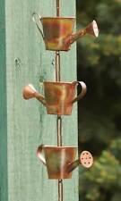 Watering Can Rain Chain, Copper by Ancient Graffiti