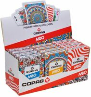 COPAG NEO SERIES POKER CASINO PLAYING CARDS (BOX OF 12 DECKS) BRAND NEW SEALED!