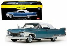 SUN STAR 1:18 PLATINUM COLLECTION 1960 PLYMOUTH FURY CLOSED CONVERTIBLE SS5412