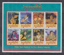K407. Guyana - MNH - Cartoons - Disney's - Pocahontas - Postage Stamps