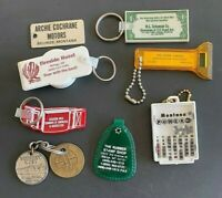 9 Vintage Keychains from Montana  - Lot 119