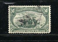 United States stamp #291, used, 1898, SCV $175.00