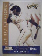 MARCELL OZUNA RARE RC CARDINALS 2011 SAL Top Prospects baseball card ROOKIE QTY