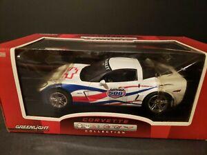 Greenlight 1/24 Red/White/Blue 2007 Daytona 500 CHEVY CORVETTE Z06 Pace Car