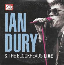 IAN DURY & THE BLOCKHEADS - LIVE 1990 - PROMO CD (2007) HIT ME WITH RHYTHM STICK