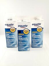 (3) Equate Men Hair Regrowth - 3 Month Total, Exp:10/20+, New In Box, FREE SHIP