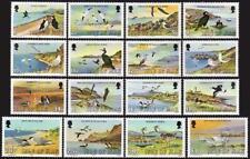 Isle of Man 224-239,MNH.Michel 220-235. Marine Birds,1983. Puffins,Gannets,Swans