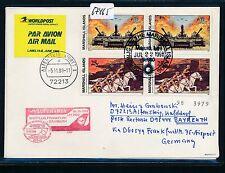67465) LH / AA  FF Frankfurt - Bayreuth 26.10.98 DASH 8, cover Marshall Isl 3