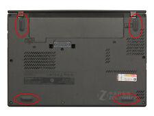 4pcs Rubber Feet Foot For Lenovo Thinkpad X240 X250 T440 T450 T440P L440 Series