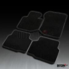 1992-1998 BMW E36 3-Series M3 Front+Rear Black Carpet Floor Mats 4PC