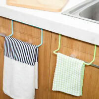 Home Over Door Tea Towel Holders Racks Kitchen Cupboard Bar Hook Cloth Hanger
