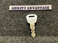 NEW: OEM KEY fits Pride Mobility Victory XL, Current Revo scooter. #125.