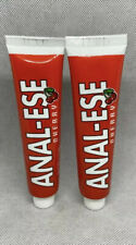 2 Pack of Anal-Ese Eze Ease Eez Desensitizing Cherry Lubricant With Out Box