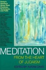 Meditation from the Heart of Judaism: Today's Teachers Share Their Practices