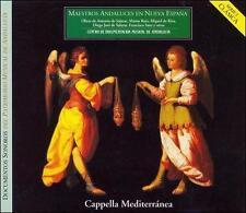 MAESTROS ANDALUCES EN NUEVA ESPA¤A (NEW CD)