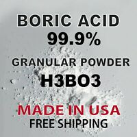 BORIC ACID POWDER GRANULAR 10LB Roach and Ant Killer, Antiseptic, Antibacterial