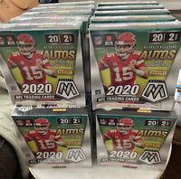 2020 Mosaic Mega Box NFL Football SEALED - Burrow Herbert Tua Hurts QTY Avail