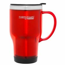NEW Thermos Plastic Outer Travel Mug 470 ml S/Steel Insulated Interior, Coloured