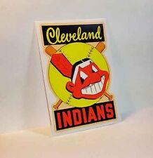Cleveland Indians Vintage Style DECAL, Vinyl STICKER