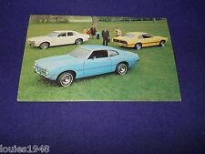1972 FORD MAVERICK 2 door sedan Dealer promotional post card VINTAGE ORIGINAL