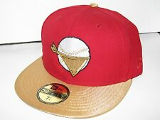 Quad City River Bandits MiLB New Era Custom 59Fifty Hat Cap 7 1/4 NWT! Astros 1