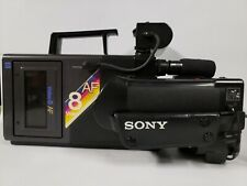Sony Video 8 Af Camcorder, Case & Accessories