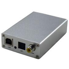 Hifi USB DAC OTG external sound card amp to fiber coaxial SPDIF output
