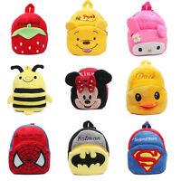 Baby Kids Boy Girl School Bags Superman Batman Bag Backpack Shoulder Schoolbag