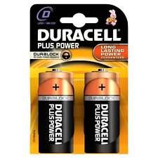 Duracell Batteries 2 x D Plus Power Battery Alkaline LR20 1.5V MN1300