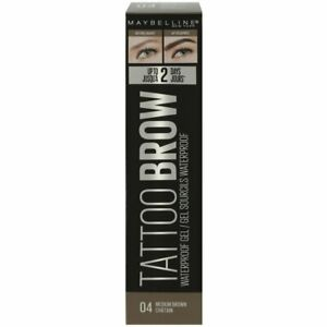 Maybelline Tattoo Brow Easy Peel off Tint Gel Eyebrow - Medium Brown