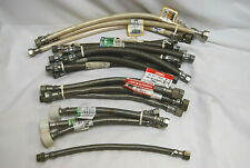 Reinforced Connectors for Bathroom Fixtures Assorted Lot of 22 S7494