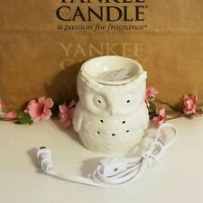 YANKEE CANDLE OWL ELECTRIC TART WARMER LIGHTS UP! BRAND NEW IN BOX