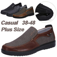 Fashion Men's Driving Moccasins Leather Casual Shoes Antiskid Loafers Slip on