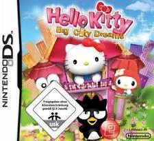 Nintendo DS 3DS HELLO KITTY BIG CITY DREAMS * DEUTSCH GuterZust.