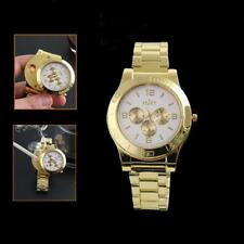 Military Cigarette Cigar Lighter Watch usb Charge Men Quartz Wrist Watches New