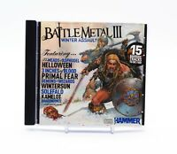 BATTLE METAL III (3) WINTER ASSAULT Rare CD Album - Complete, VG Condition