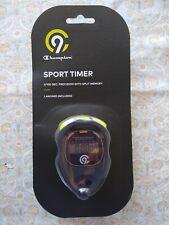 Champion® Econosport Stopwatch/ Sport Timer 1/100 Sec Precision , NWT & Battery