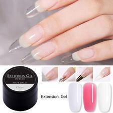 7ml Edificio De Uñas UV Gel Puntas de extensión de dedo Polaco Nail Art Soak Off Gel