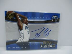 2005-06 Upper Deck Trilogy Signs of Stardom #DH Dwight Howard MAGIC