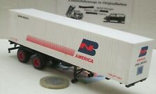 "Herpa  40 ft Container Auflieger  mit 40ft Container ""BM America"" (5888)"