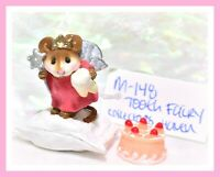 ❤️Wee Forest Folk M-148 Tooth Fairy Collector's Haven Coral Red Retired WFF❤️