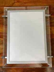 4 x A4 Double Sided PORTRAIT LED Window Estate Agent Display  + 1 Full KIT