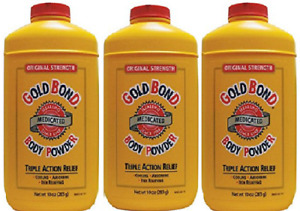 Gold Bond Medicated Powder 10-Ounce ( 3 Pack)