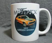 1970 Ford Maverick Grabber Coffee Cup, Mug - New - Classic 1970's - Sharp!
